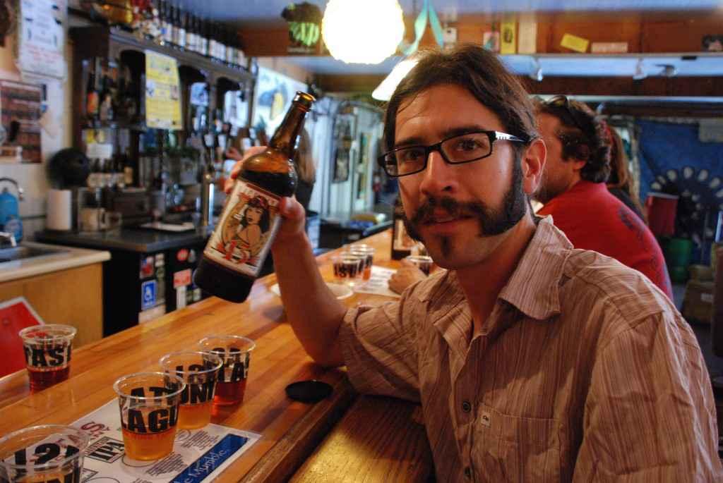 beer tasting lagunitas