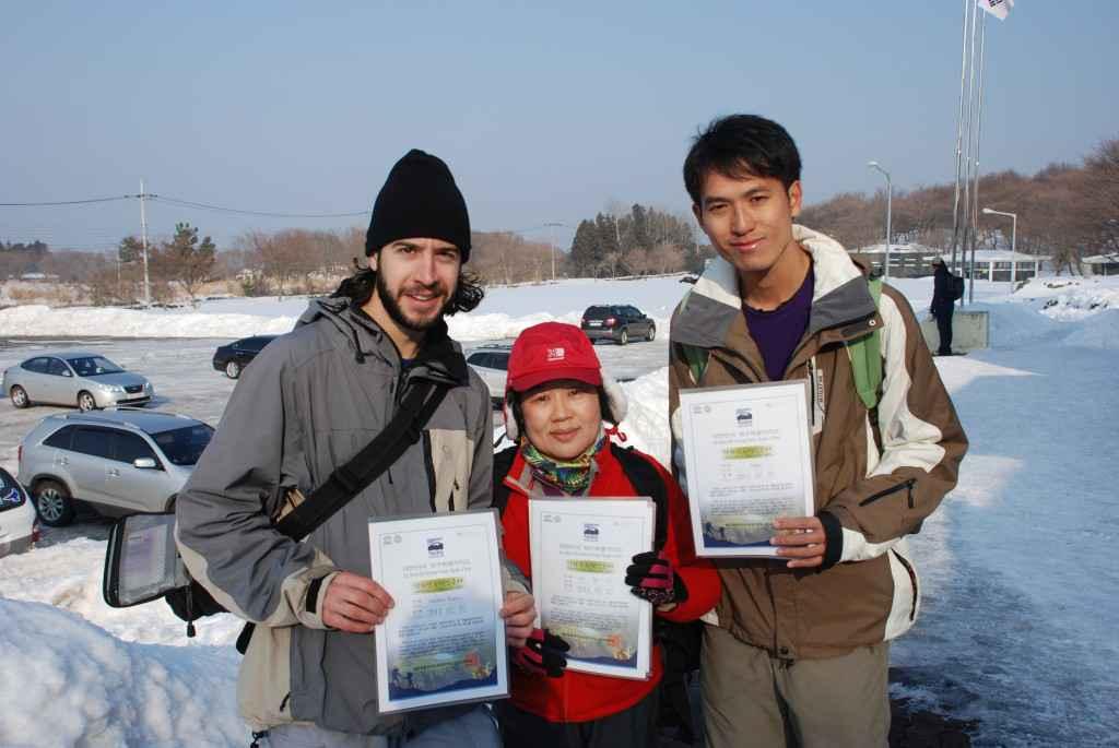 halla san certificate korea jeju