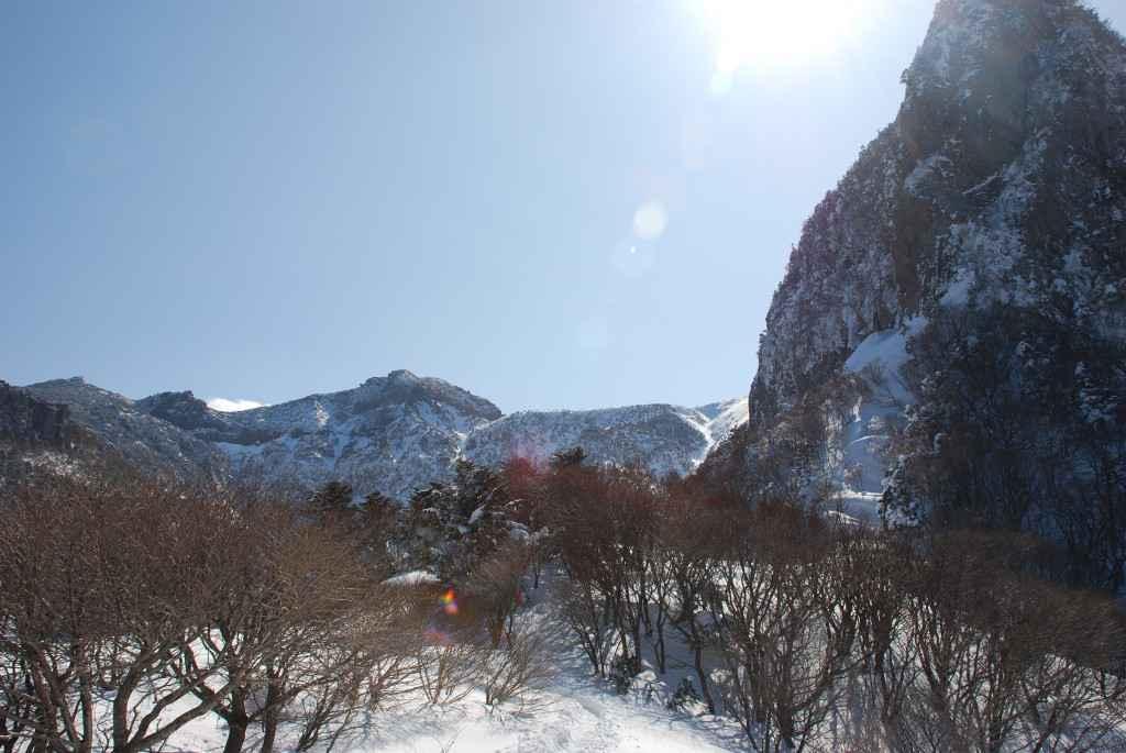 halla san view jeju korea