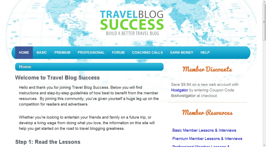 Travel Blog Success