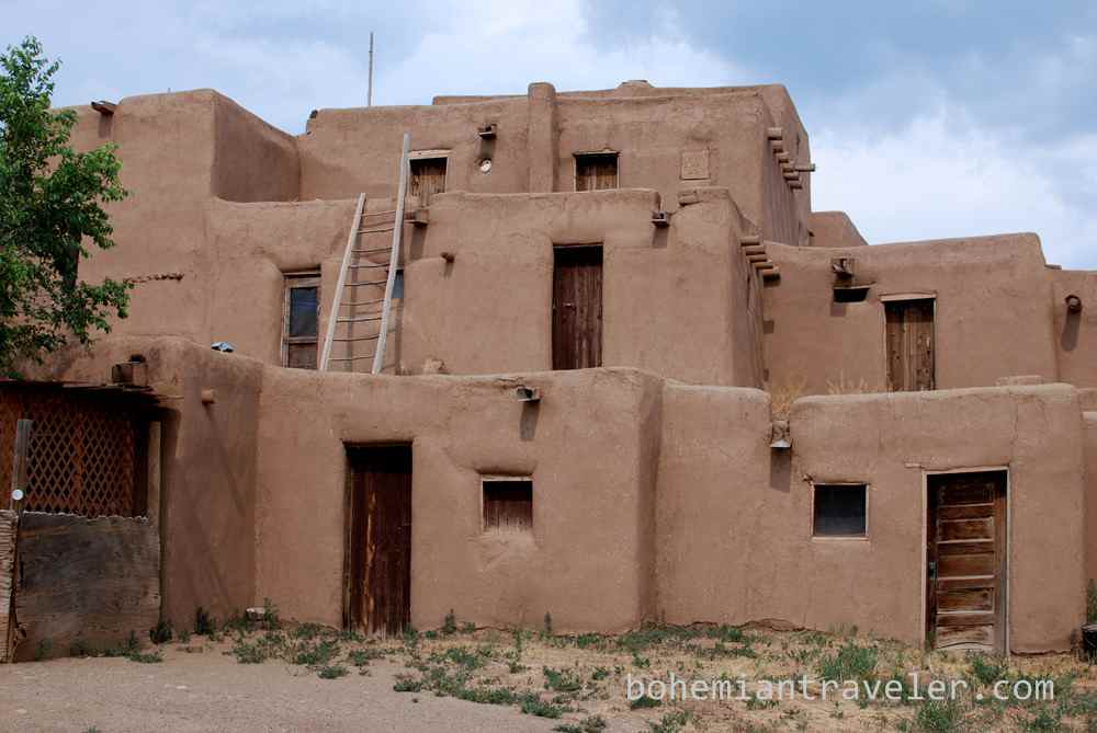 Into enchanting new mexico from the north for Adobe home builders texas
