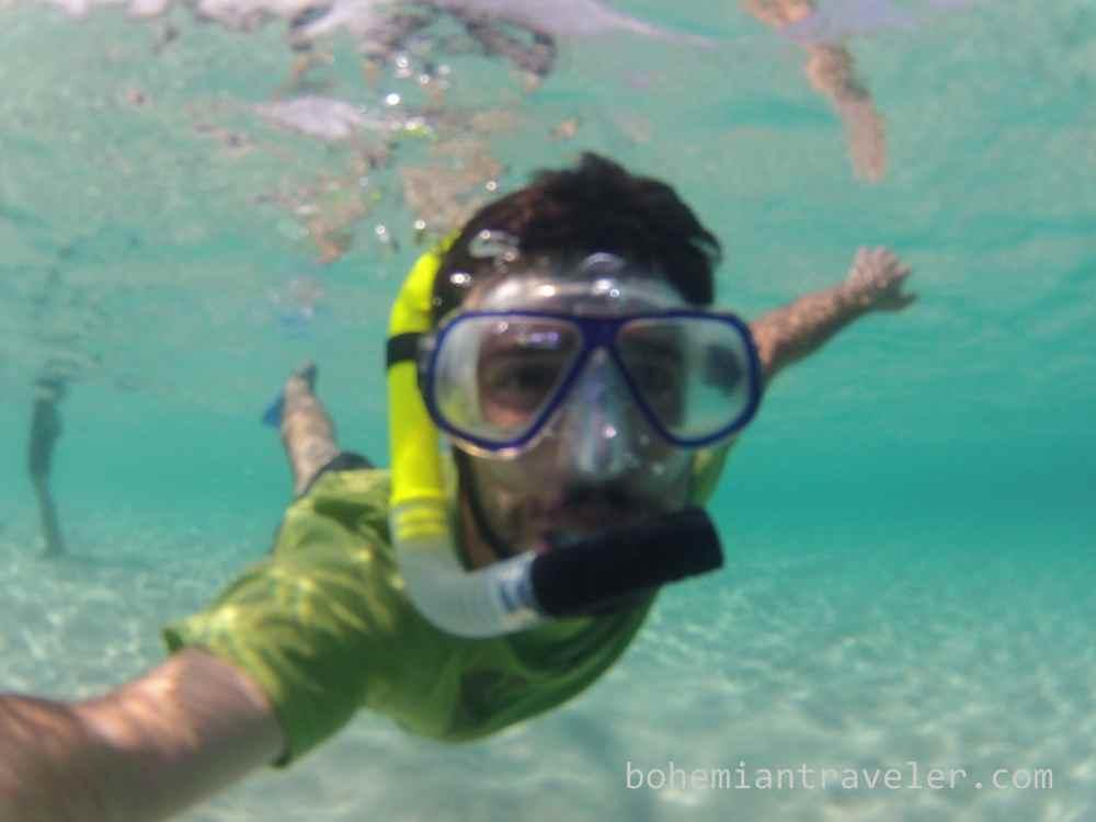 snorkeling Komodo Indonesia