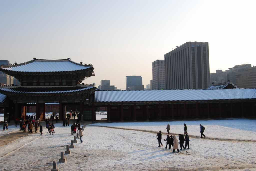 Gyeongbok Palace Seoul Korea