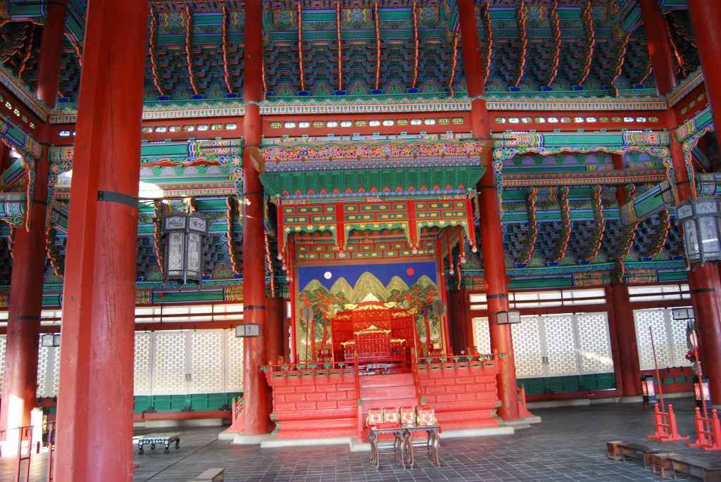 Gyeongbok Palace Seoul Korea (2)