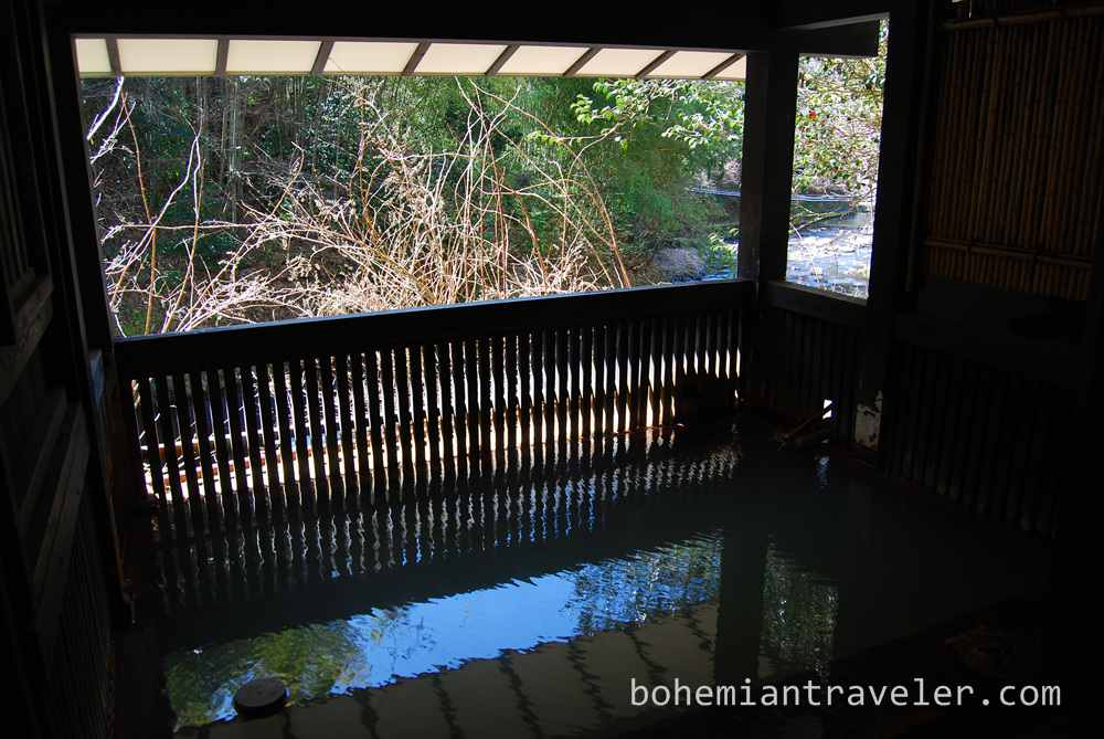 baths at  Ryokan Yumotosou Kurokawa Onsen