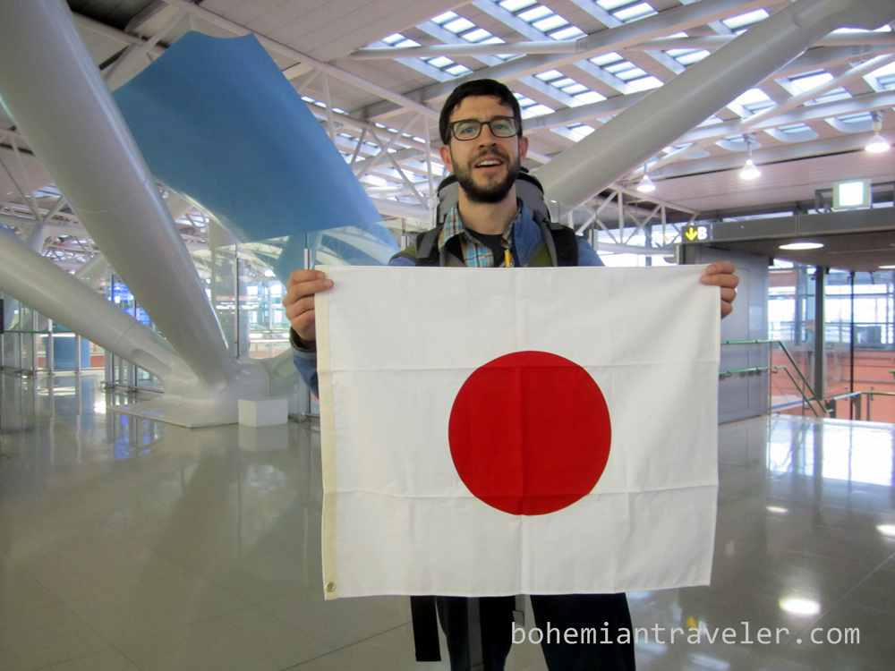 Stephen Japan flag