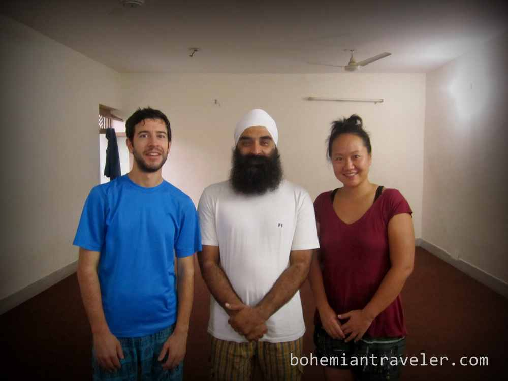 digital nomad in rishikesh
