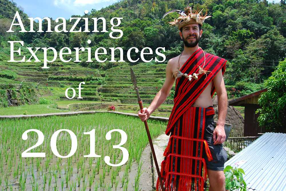 Amazing Experiences of 2013