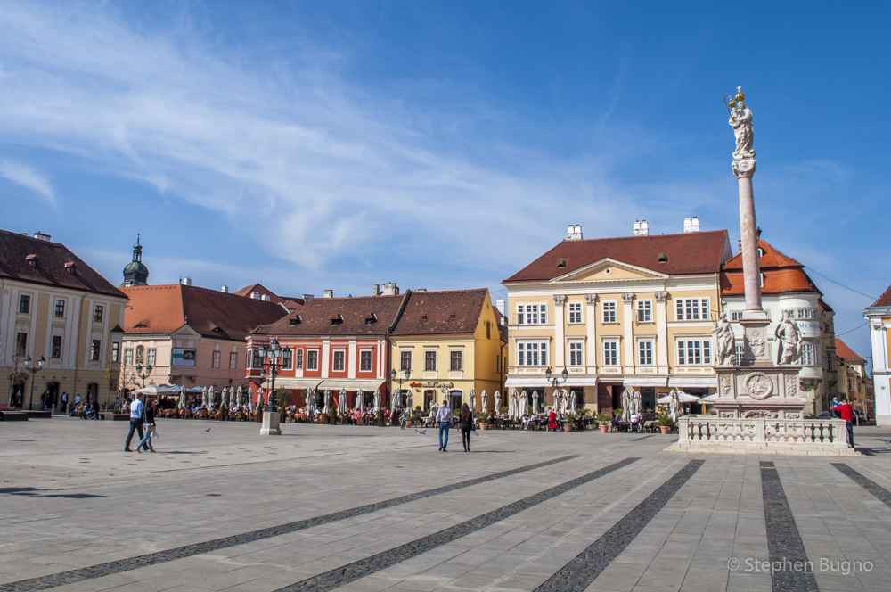 A Walk Around Gyor Hungary