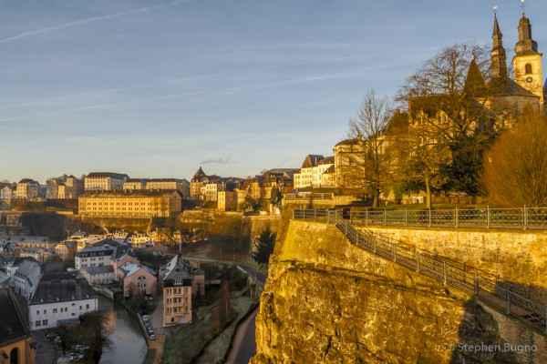 Walk through Luxembourg