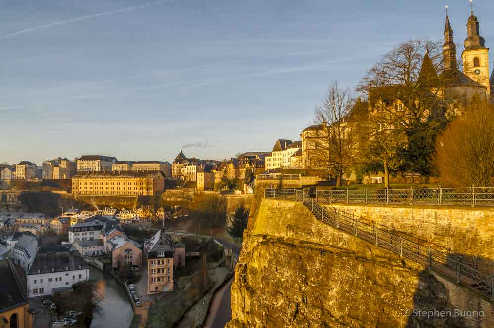 Walk through Luxembourg