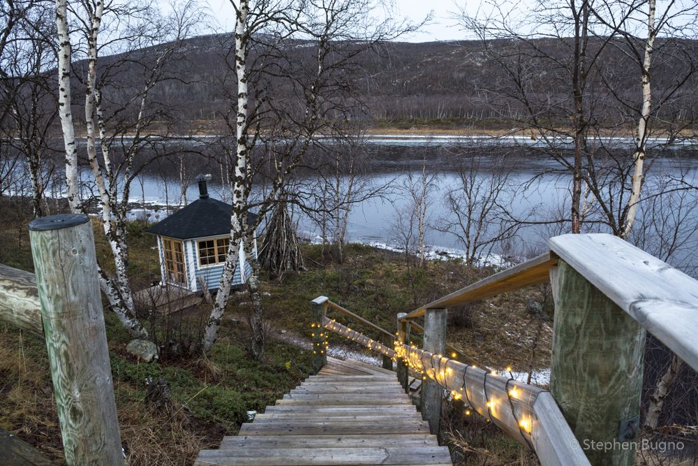 lapland in winter usjoki