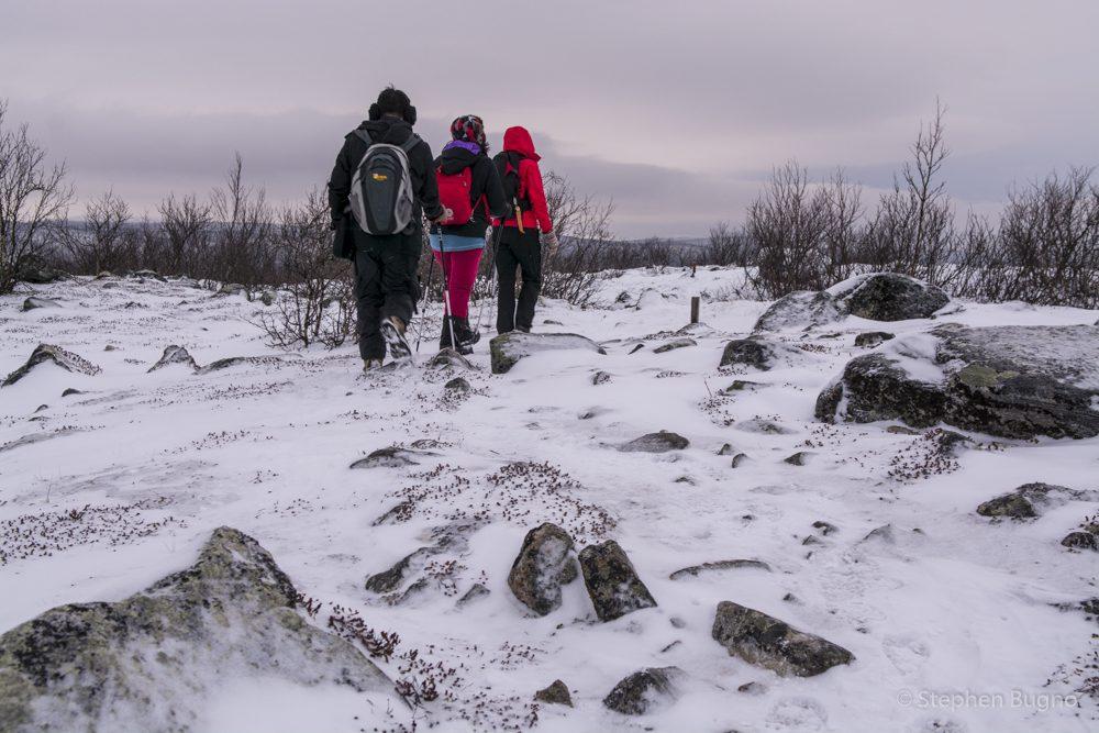 lapland in winter utsjoki