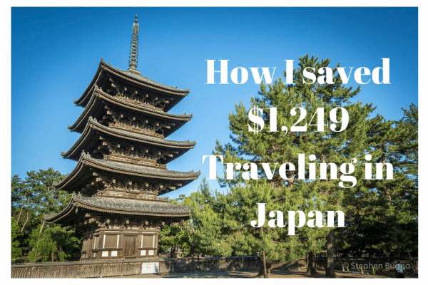 Expenses in Japan